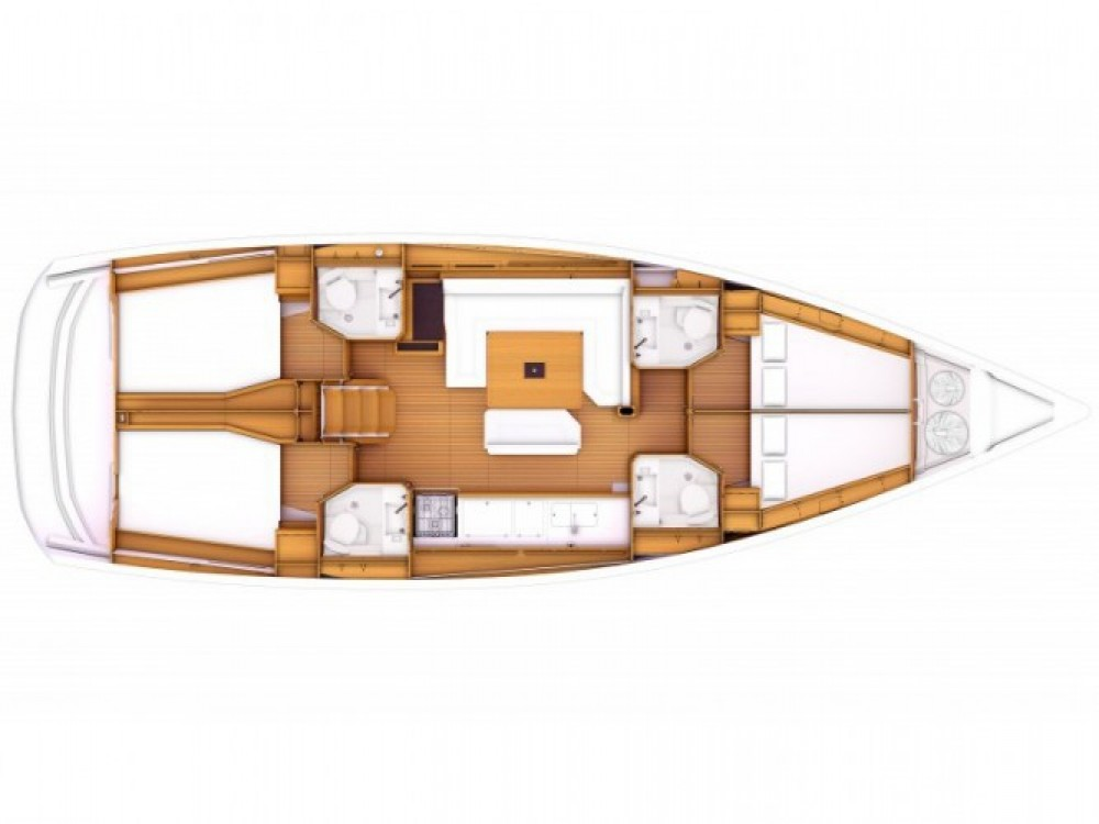 Huur een Jeanneau Sun Odyssey 469 in Marina de Alimos
