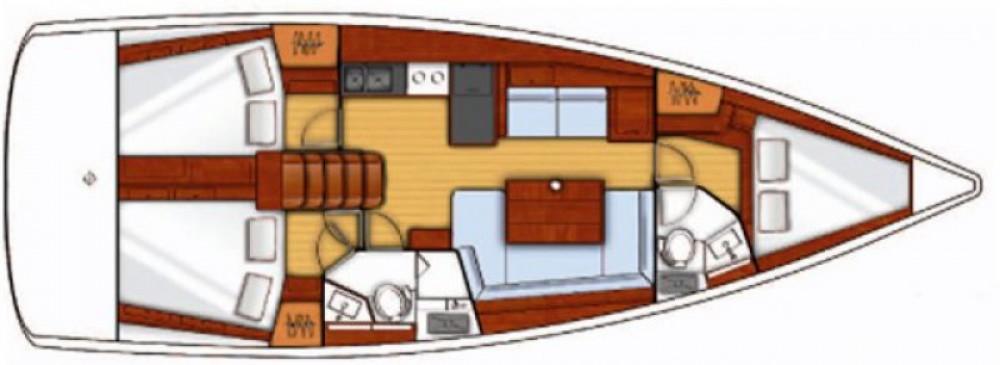 Bénéteau Oceanis 41 te huur van particulier of professional in Marina de Alimos