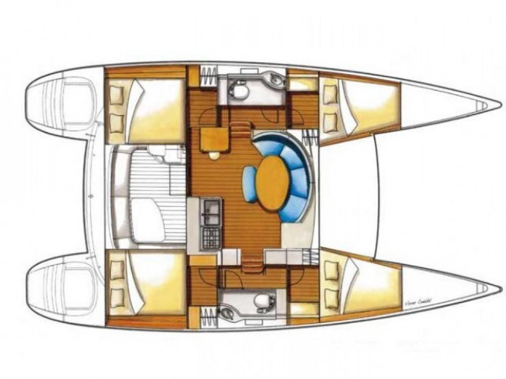 Lagoon Lagoon 380 S2 zwischen Privatpersonen und professionellem Anbieter Marina Alimos