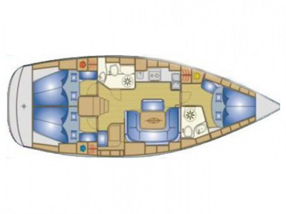 Location bateau Bavaria Cruiser 39 à ACI Marina Split sur Samboat