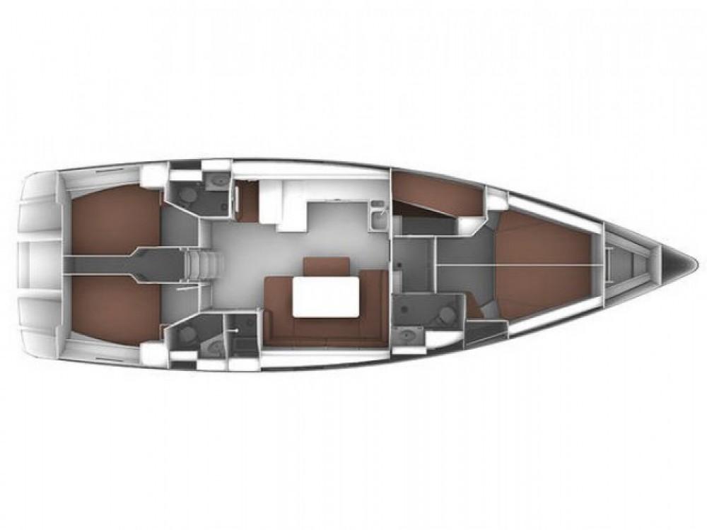 Bavaria Cruiser 51 entre particuliers et professionnel à Cala dei Sardi
