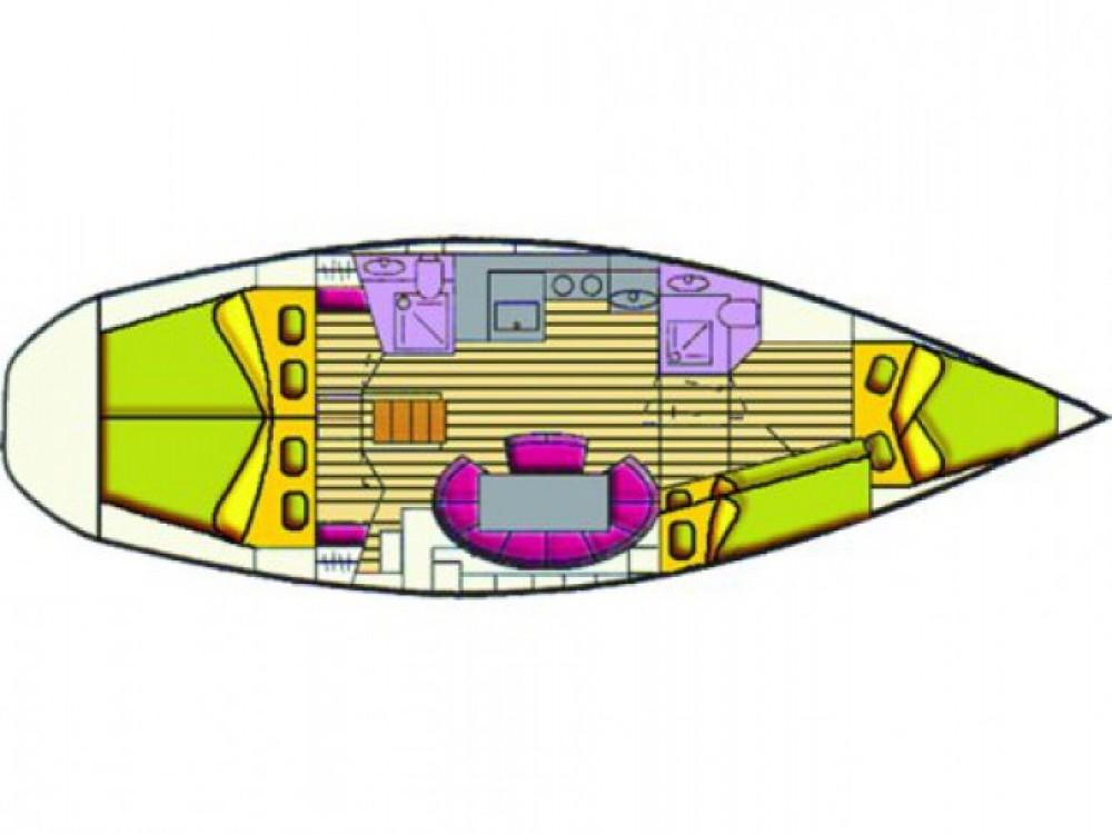 Location bateau Cala dei Sardi pas cher Bavaria 44