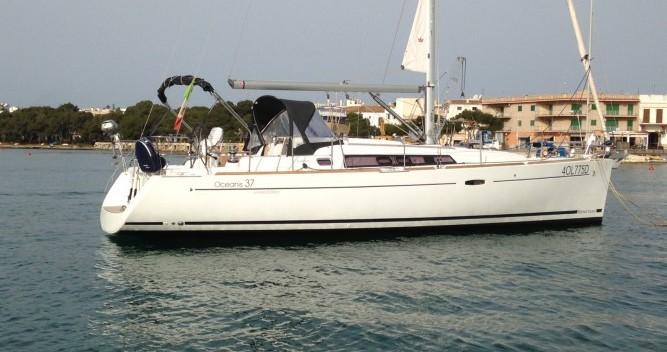 Location bateau Felanitx pas cher Oceanis 37