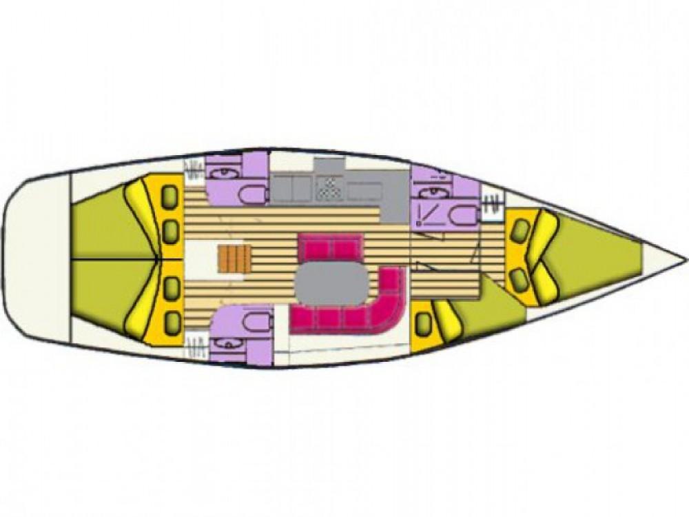 Location bateau Cala dei Sardi pas cher Oceanis