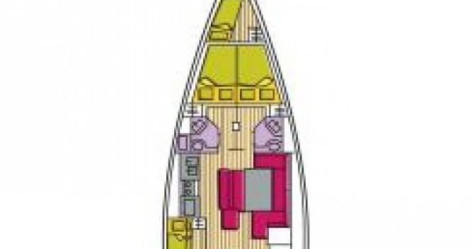 Boat rental Bénéteau Oceanis 50 Family in Cala dei Sardi on Samboat