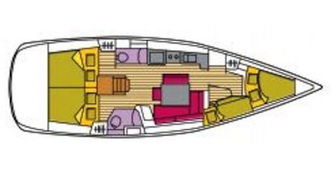 Location bateau Bénéteau Oceanis 43 à Castiglioncello sur Samboat