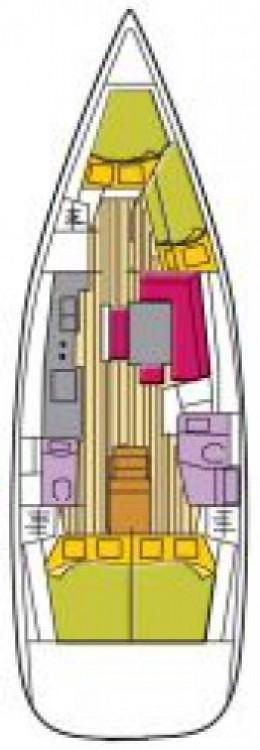 Location bateau Bénéteau Oceanis 46 à Castiglioncello sur Samboat