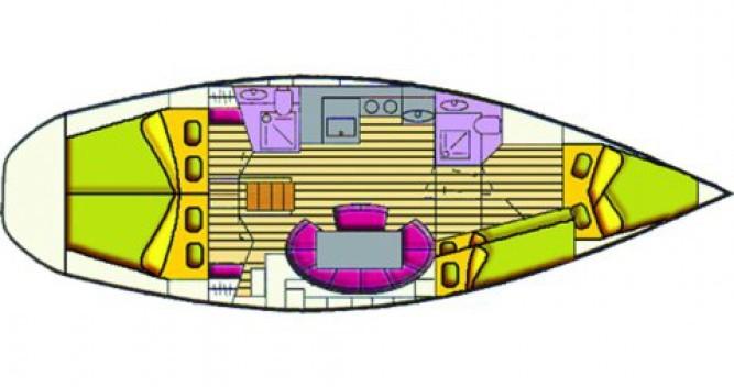 Location bateau Bavaria Bavaria 44 à Castiglioncello sur Samboat