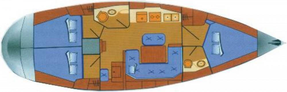 Location bateau Prévéza pas cher Cruiser 41