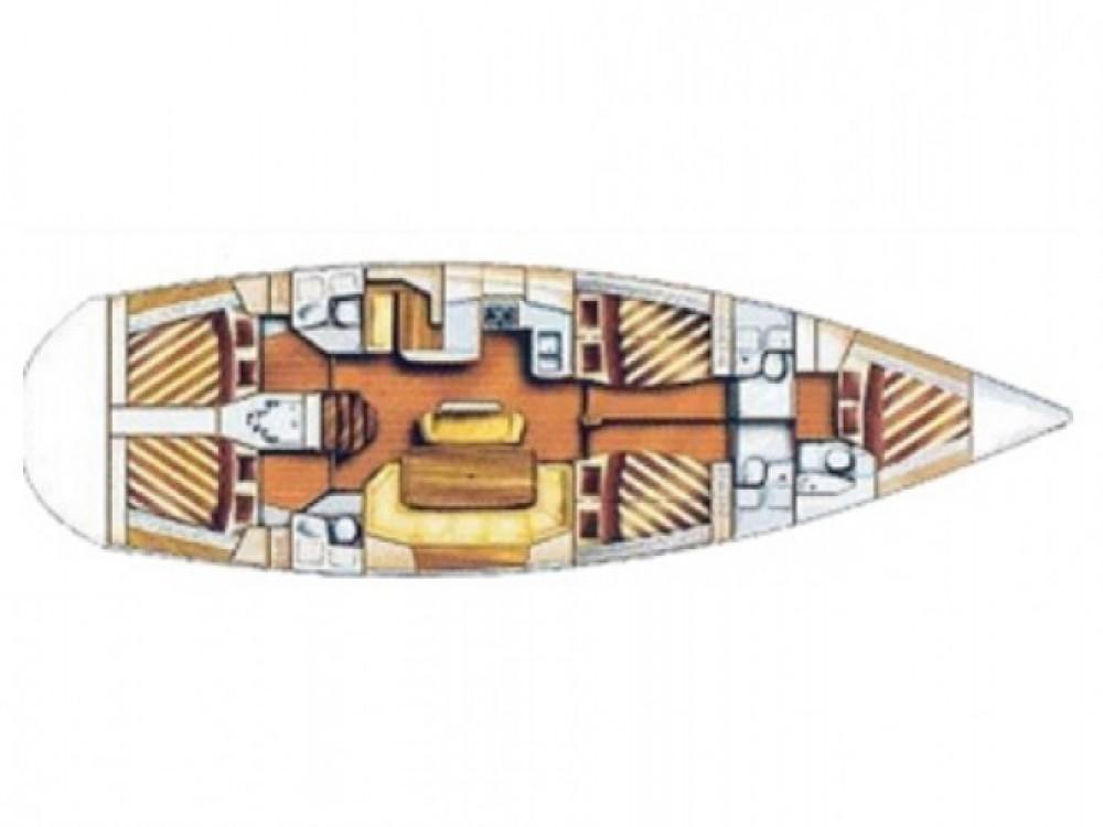 Location bateau Marina Gouvia pas cher Bavaria Cruiser 51