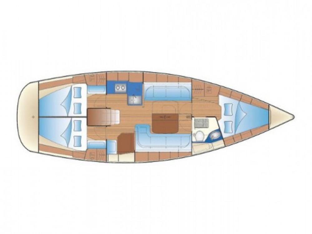 Location Voilier à Marina Gouvia - Bavaria Cruiser 38