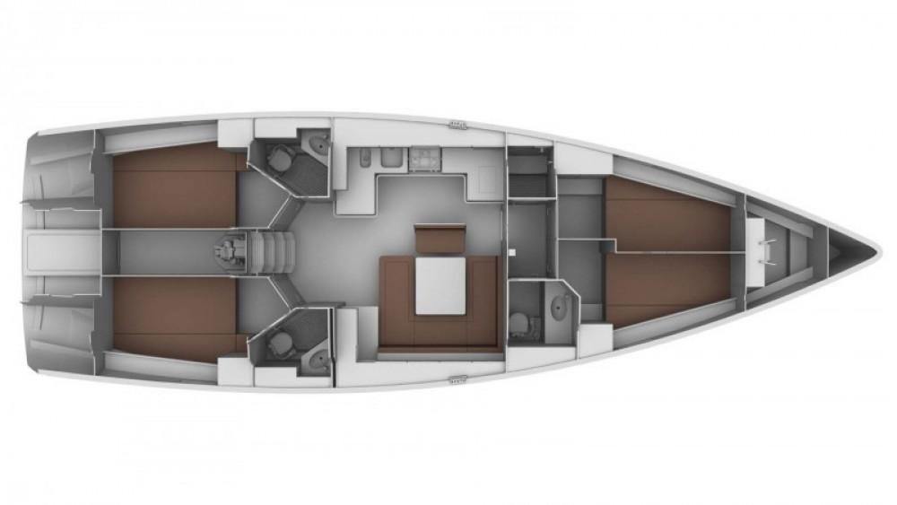 Location bateau Bavaria Cruiser 45 à Marina Gouvia sur Samboat