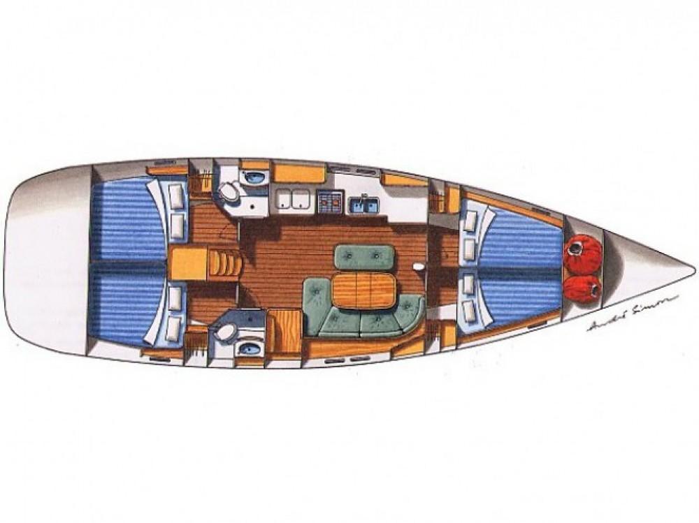 Location bateau Μαρίνα Αλίμου pas cher Oceanis 473