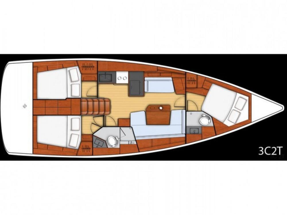 Location bateau Bénéteau Oceanis 41.1 à Ameglia sur Samboat