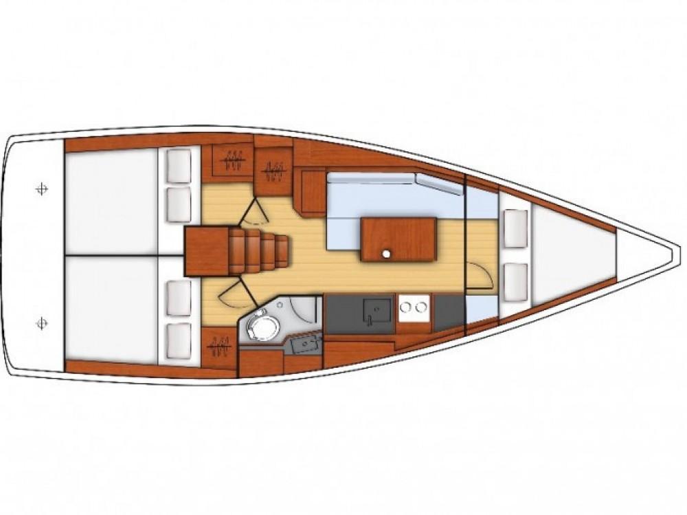 Location yacht à Ameglia - Bénéteau Oceanis 35 sur SamBoat
