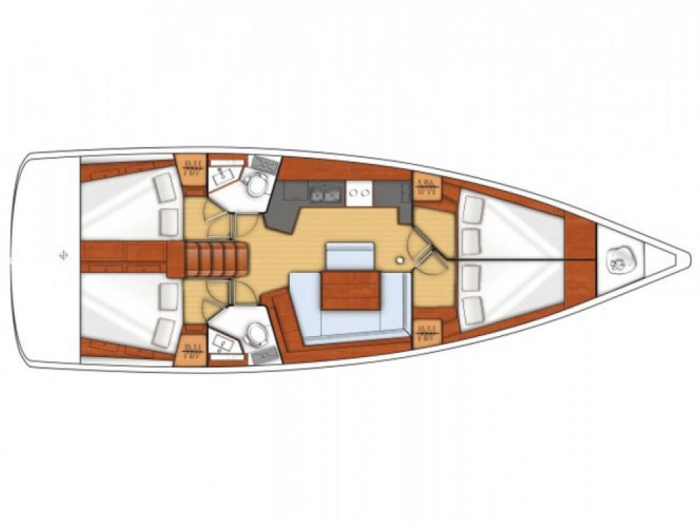 Location bateau La Spezia pas cher Oceanis 45