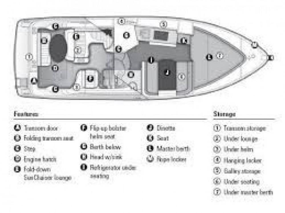 Location bateau Bayliner Bayliner 285 Cruiser à  sur Samboat
