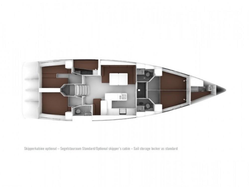 Location bateau Marina de Alimos pas cher Bavaria Cruiser 56