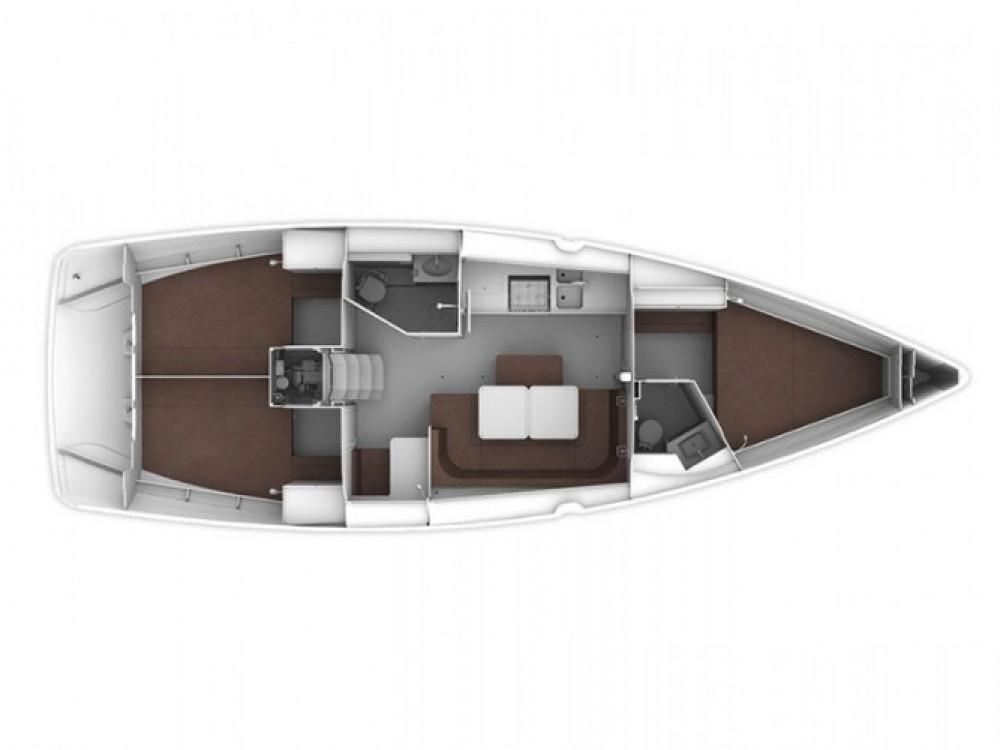 Location bateau Μαρίνα Αλίμου pas cher Cruiser 41