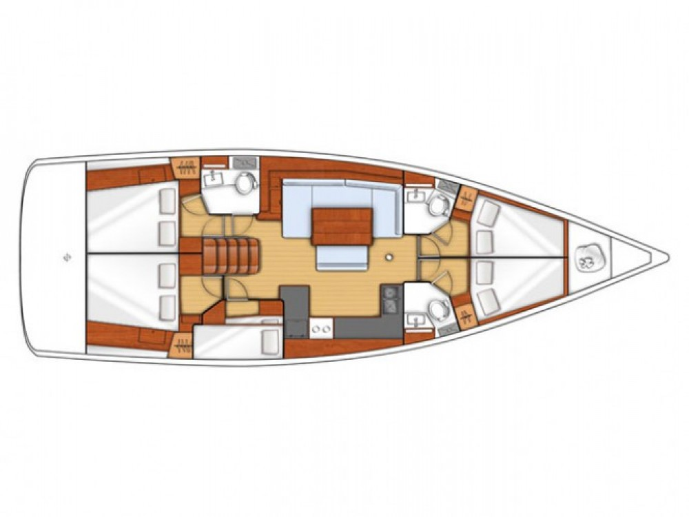 Location bateau Μαρίνα Αλίμου pas cher Oceanis 48