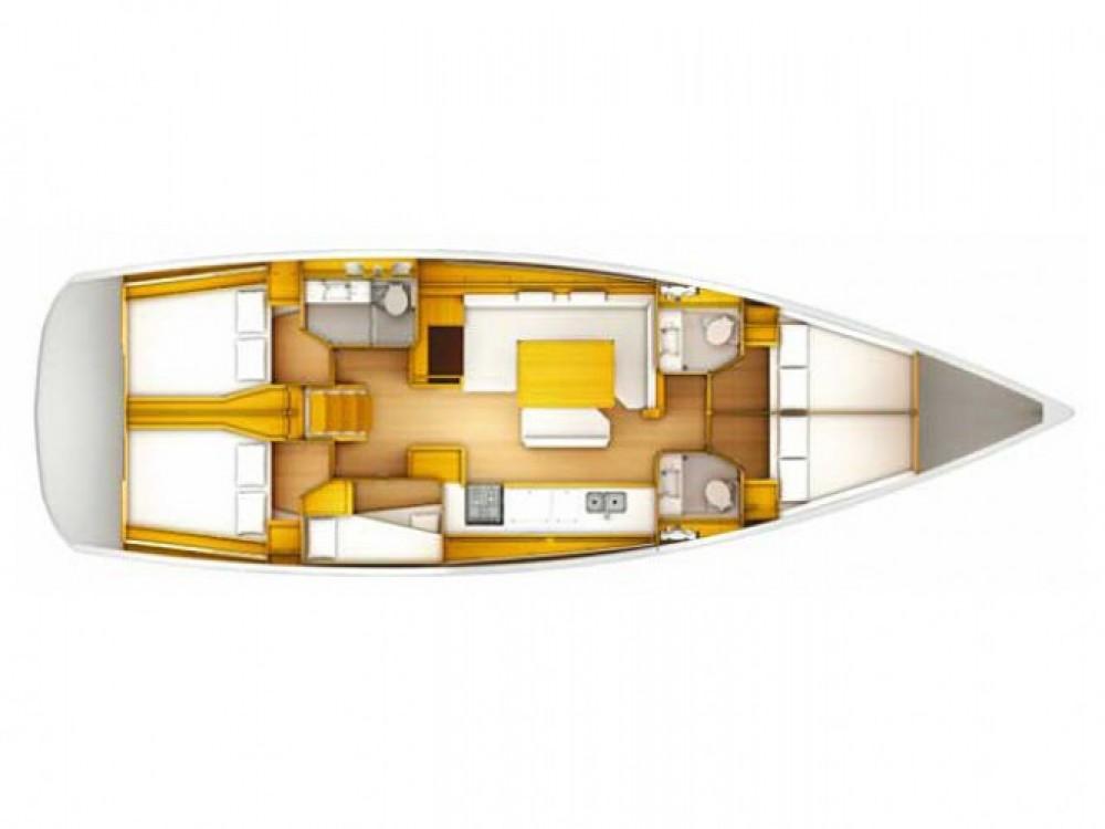 Location yacht à Cos - Jeanneau Sun Odyssey 509 sur SamBoat