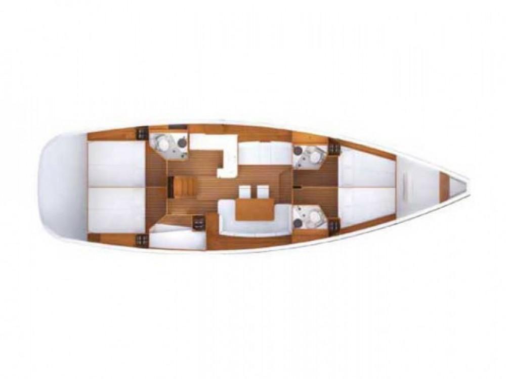 Location bateau Μαρίνα Αλίμου pas cher Jeanneau 53