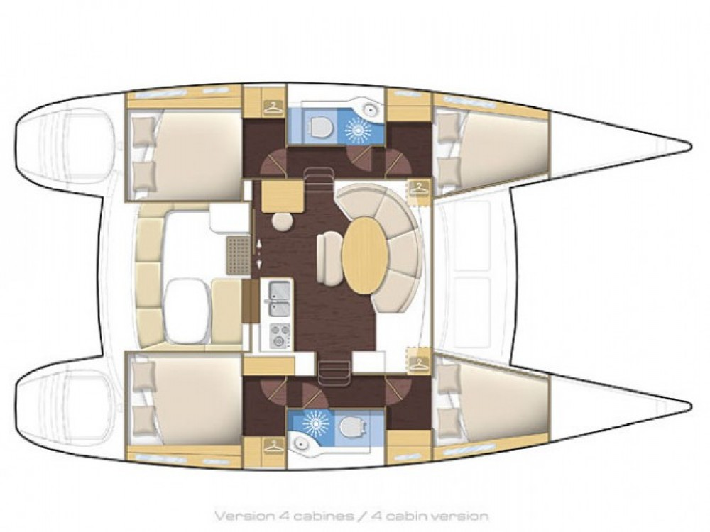 Location yacht à Cos - Lagoon Lagoon 380 sur SamBoat