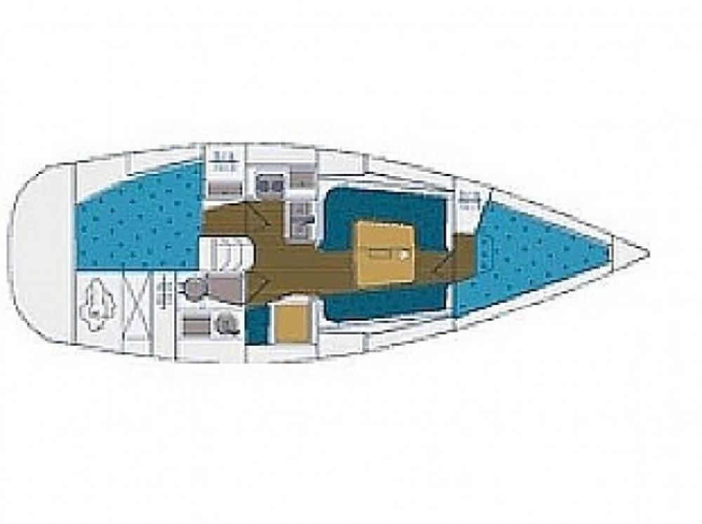 Location bateau Elan Elan 333 à Marina Zadar sur Samboat