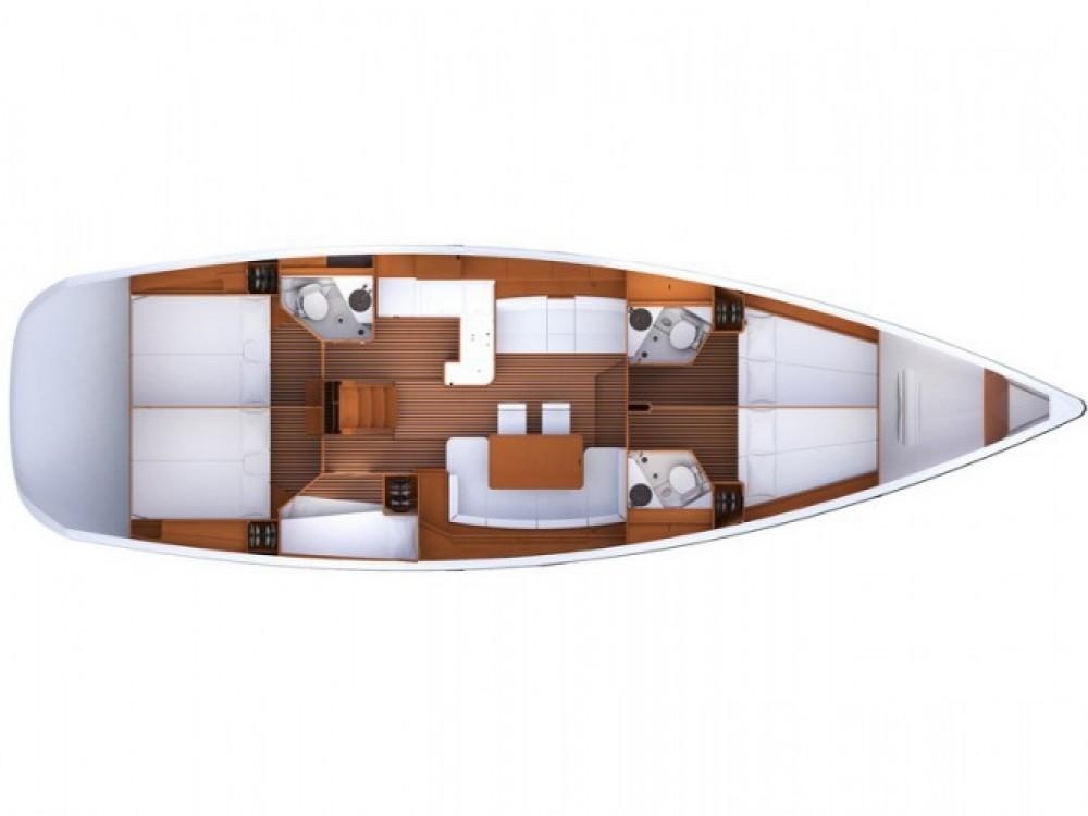 Location bateau ACI Marina Split pas cher Jeanneau 53