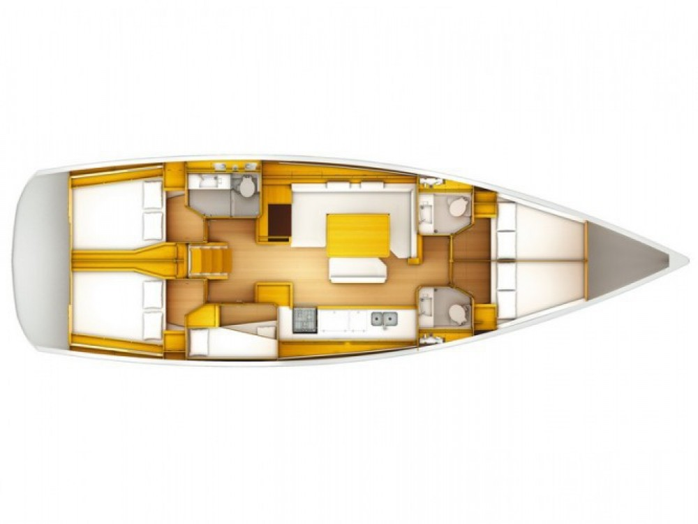 Location bateau ACI Marina Split pas cher Sun Odyssey 509