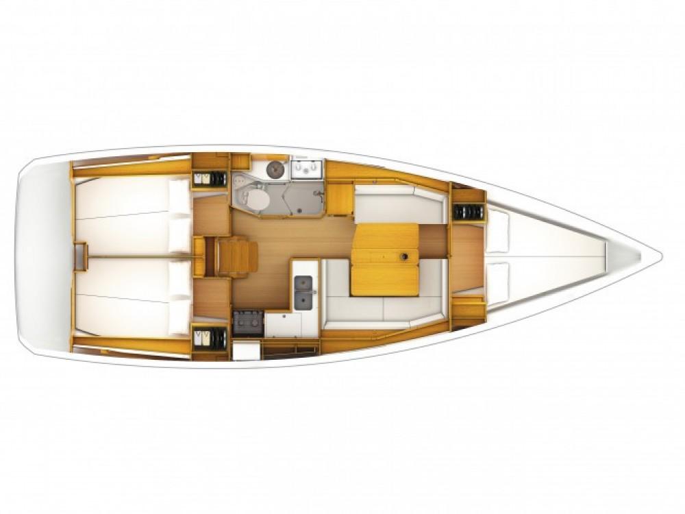 Location bateau ACI Marina Dubrovnik pas cher Sun Odyssey 389