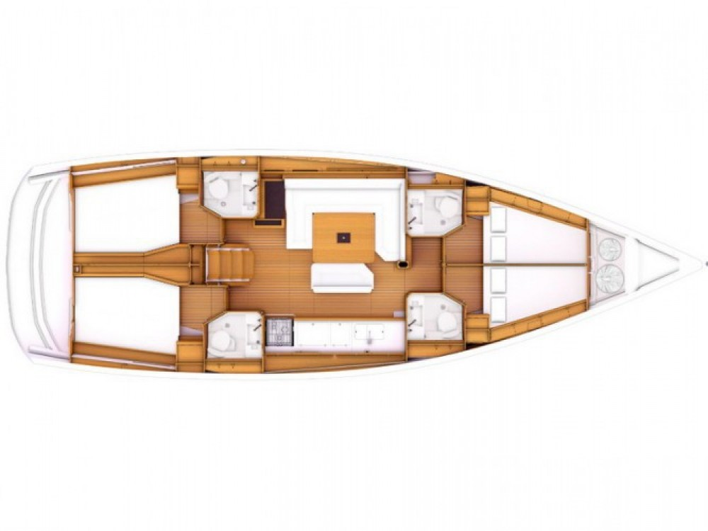 Location yacht à ACI Marina Split - Jeanneau Sun Odyssey 469 sur SamBoat