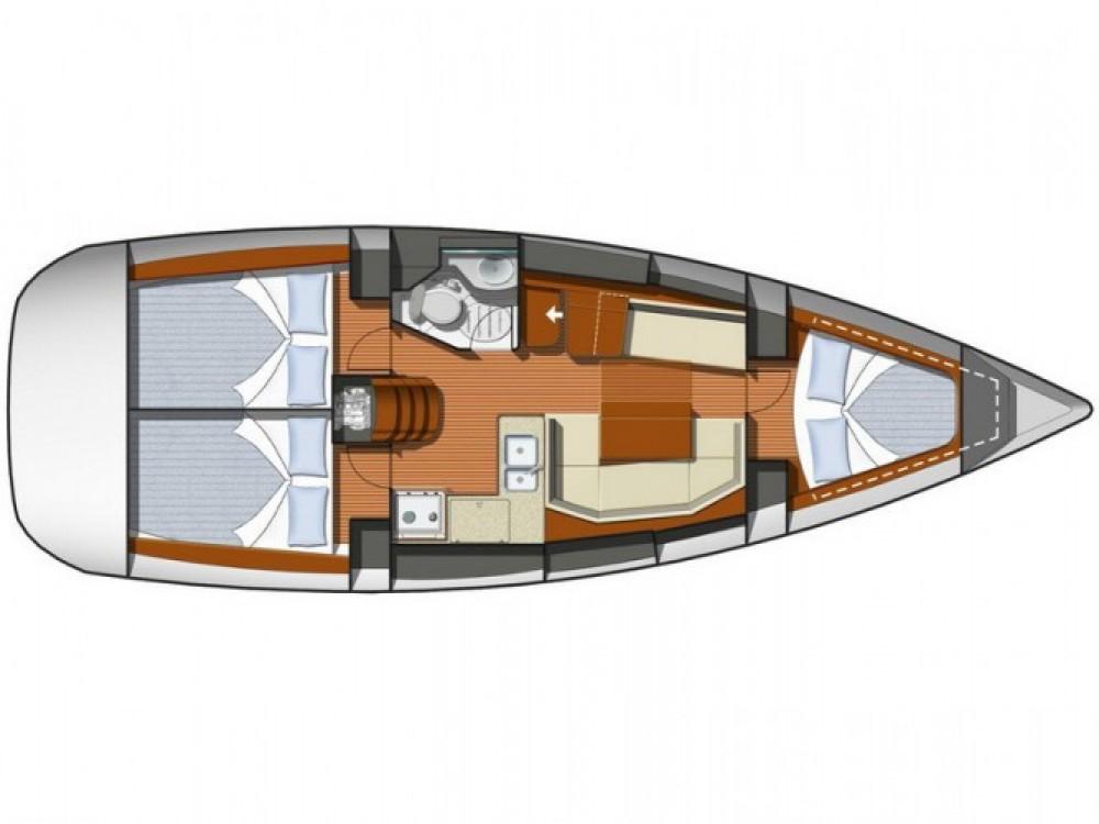 Location Voilier à ACI Marina Split - Jeanneau Sun Odyssey 36i