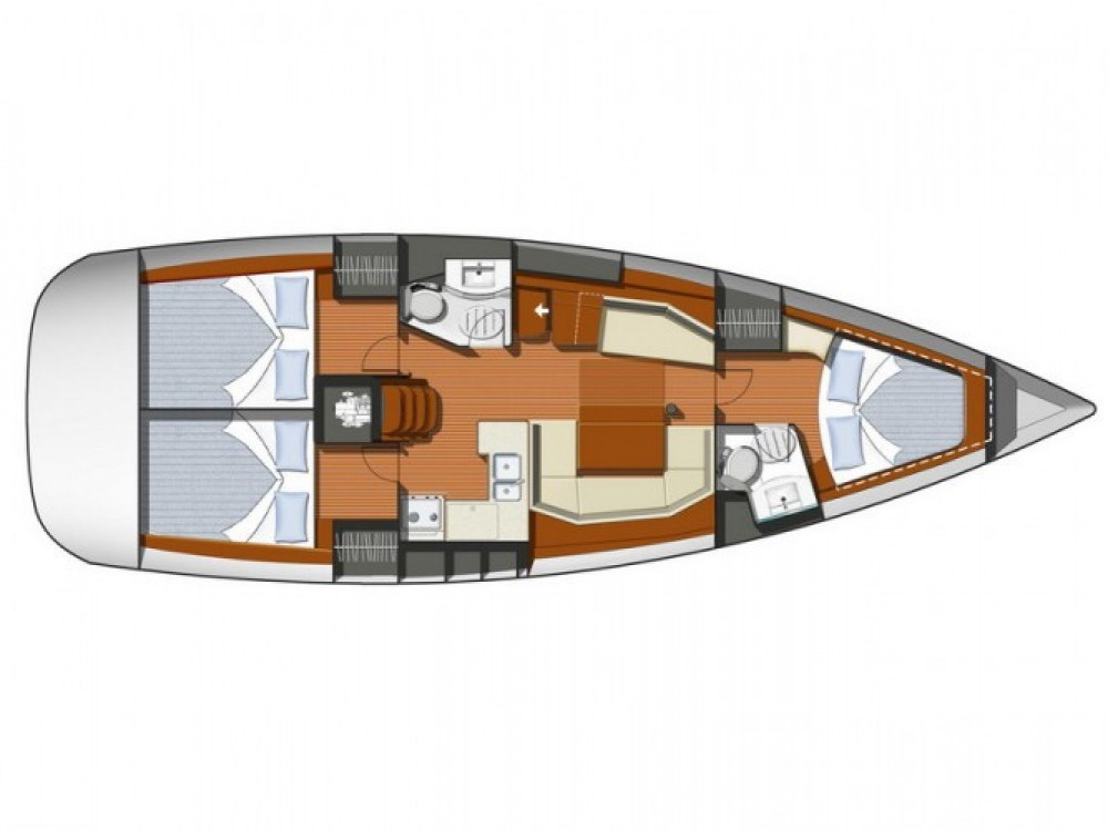 Location bateau ACI Marina Pula pas cher Sun Odyssey 42i