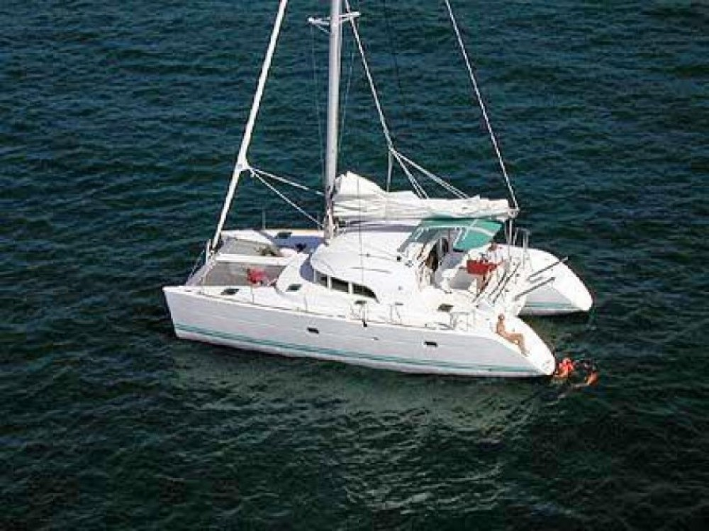 Boat rental Murter cheap Lagoon 380