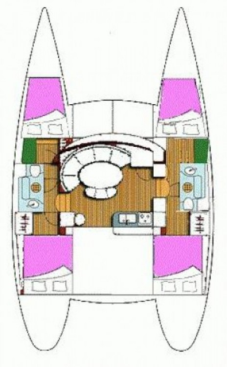 Catamaran for rent Murter at the best price