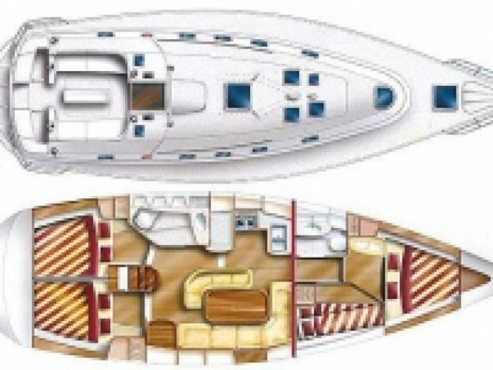 Location bateau Murter pas cher GibSea 43-4