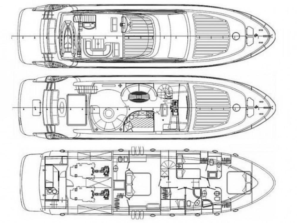 Louer Bateau à moteur avec ou sans skipper Abacus à Sibenik