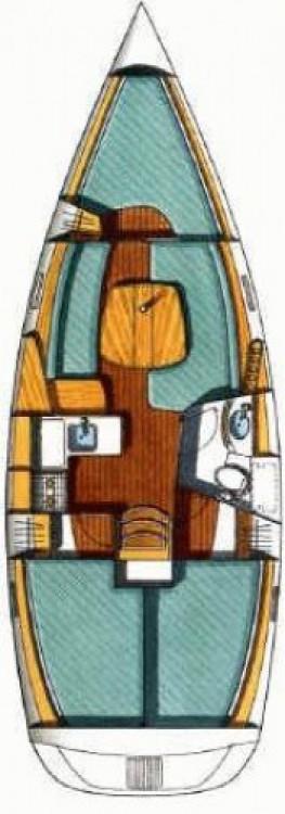 Location bateau Murter pas cher Oceanis 331