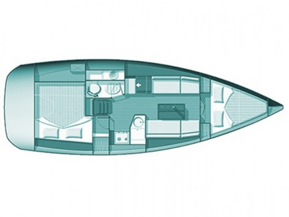 Location bateau Skópelos pas cher Sun Odyssey 33i