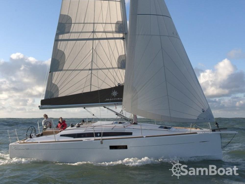Location bateau Jeanneau Sun Odyssey 349 à Skópelos sur Samboat