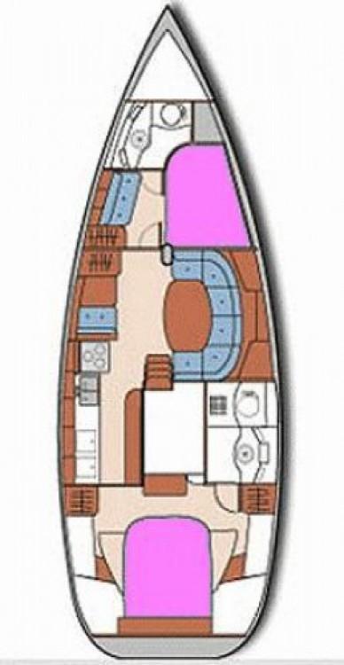 Location bateau Skópelos pas cher Oceanis 40