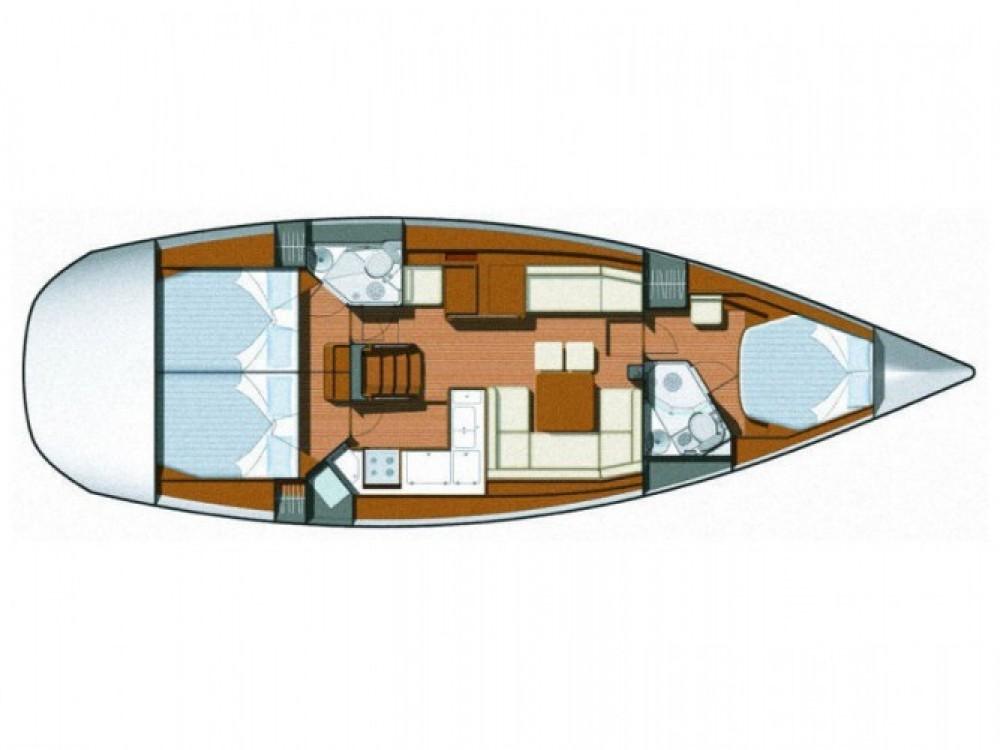 Location bateau Sukošan pas cher Sun Odyssey 45 DS