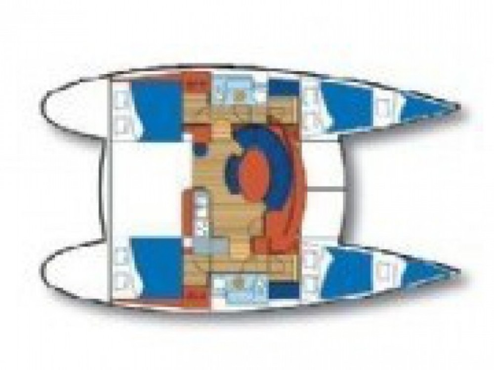 Location Catamaran à Sibenik - Lagoon Lagoon 380 S2