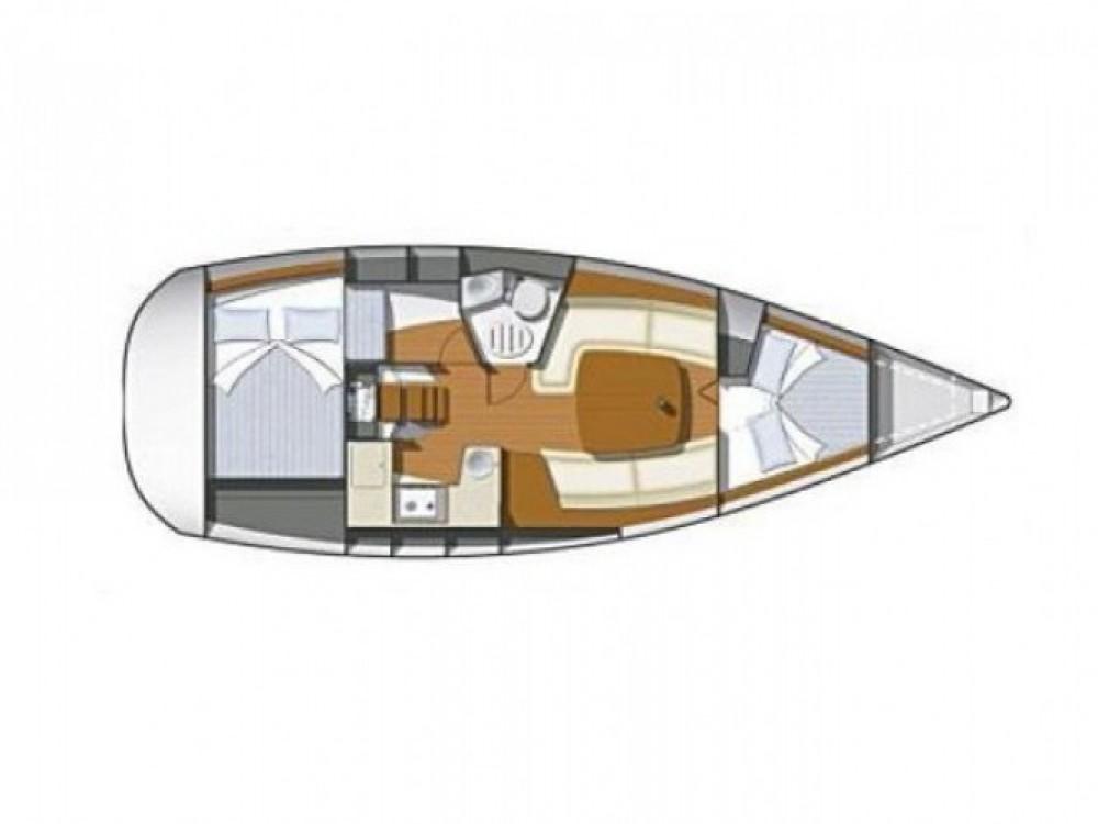 Location bateau Jeanneau Sun Odyssey 32i à Sibenik sur Samboat