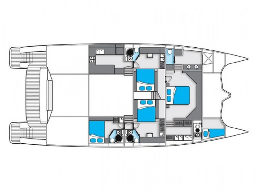 Louer Catamaran avec ou sans skipper Sunreef à Sibenik