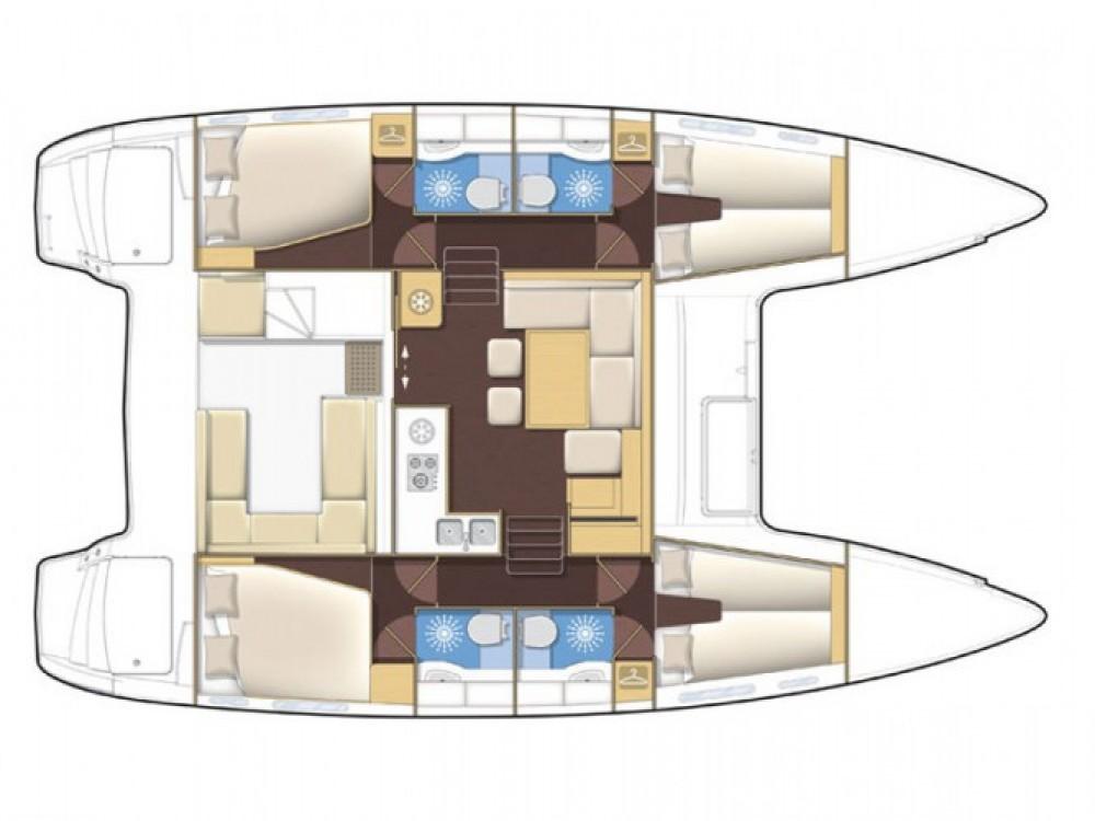 Location bateau Sibenik pas cher Lagoon 400 S2