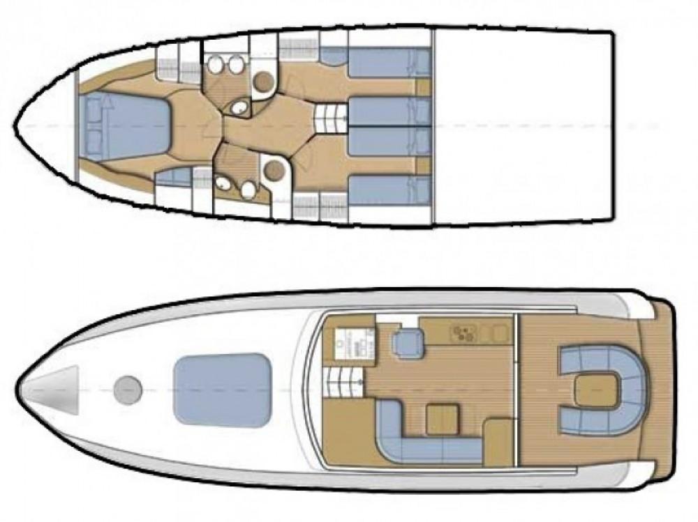 Location bateau Sibenik pas cher Alena 48