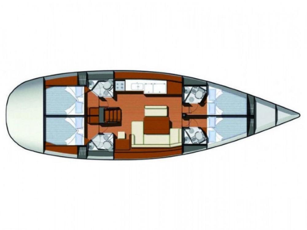 Location bateau Sibenik pas cher Sun Odyssey 49i