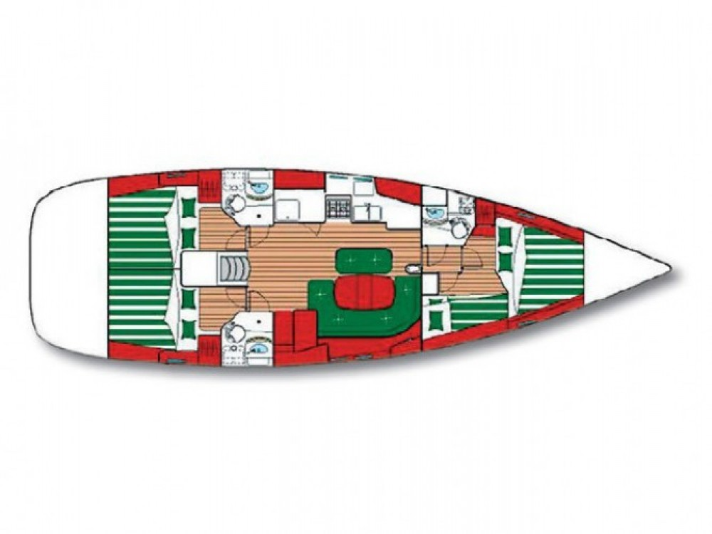 Location bateau Sibenik pas cher Oceanis 473
